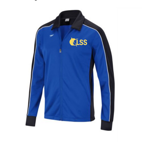 GLSS Speedo Male/Female Warmup Jacket w/ Embroidered Logo