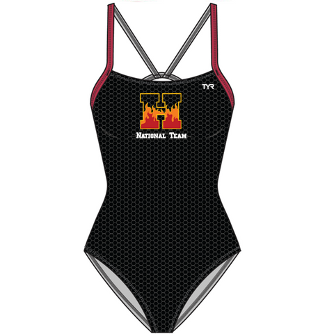 HEAT NATIONAL Team Suit Female Cut Out