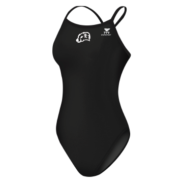 JCC Otters Female TYR Polyester Thin Suit w/ logo