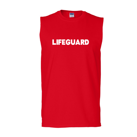 Lifeguard Sleeveless T-shirt