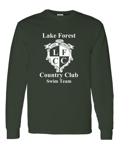 Lake Forest Country Club Long Sleeve Shirt w/NAME