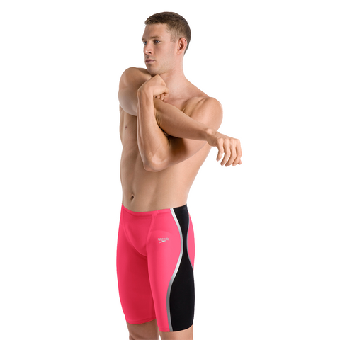 SALE Speedo Pure Intent Red High Waist Jammer
