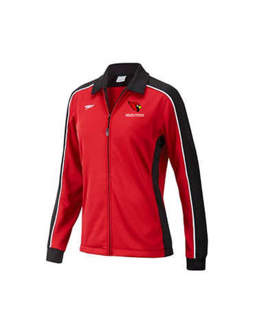 Mentor Cardinals Male/Female Warmup Jacket w/team logo