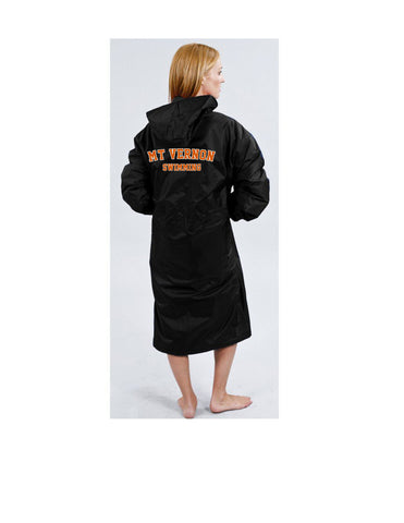 Mt. Vernon Speedo Parka with MT VERNON SWIMMING