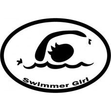 Swimmer Girl/Dude Stickers