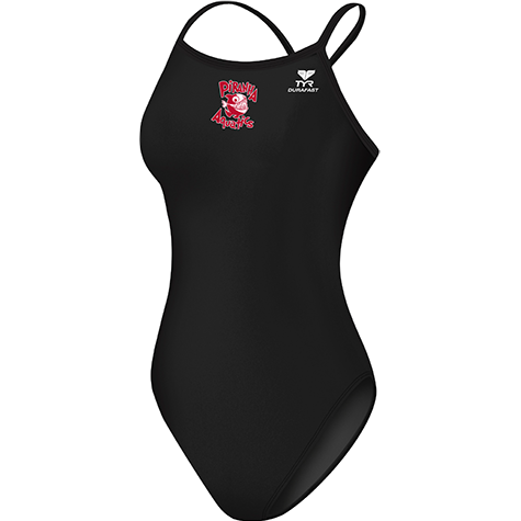 Piranha Aquatics Female Lycra thin strap