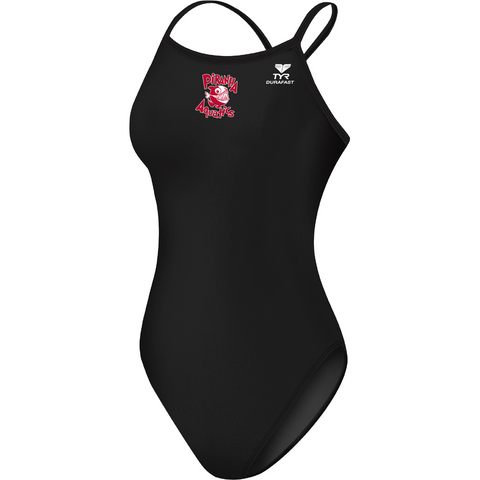 Piranha Aquatics Thin Strap Poly Suit