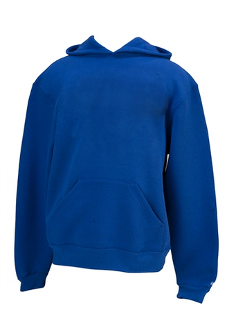 Team Hoodie Pullover in Royal with Optional Last Name