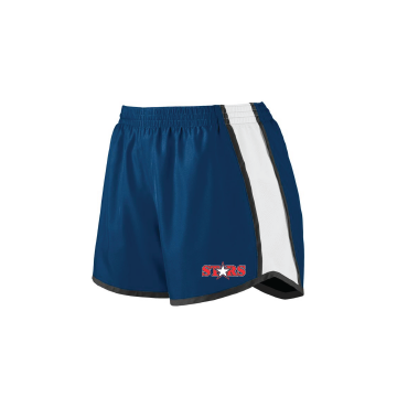 Solon Stars Female Pulse Shorts with Embroidered Logo
