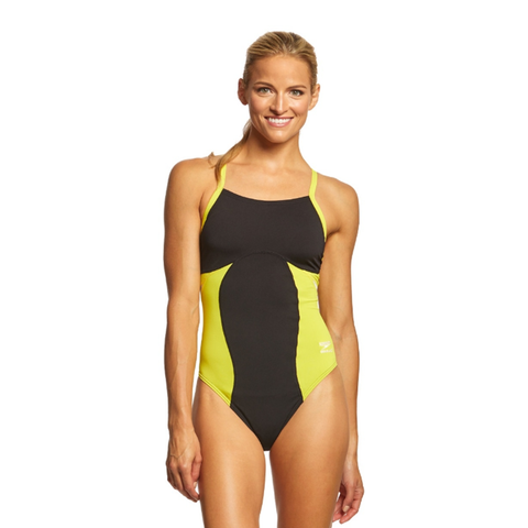 Speedo Spark Splice Flyback - Yellow