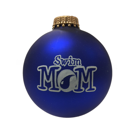 Swim Mom - Holiday Ornament