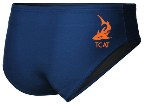 TCAT MALE LYCRA BRIEF WITH LOGO