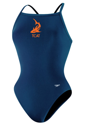TCAT FEMALE LYCRA THIN STRAP WITH LOGO