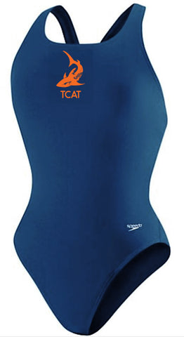 TCAT FEMALE LYCRA THICK STRAP WITH LOGO