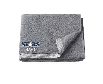 Solon Stars Towel with First Name