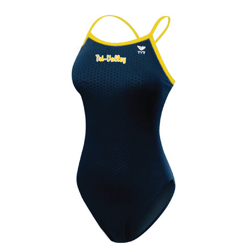 Tri-Valley Female Meet Suit with Logo