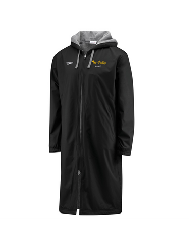 Tri Valley HS Parka with Logo and Last Name
