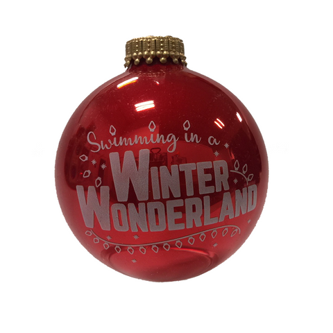 Winter Wonderland - Holiday Ornament