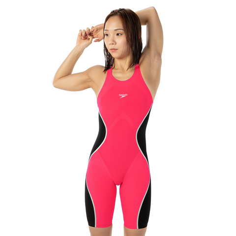 SALE Speedo Pure Intent Red Open Back Kneeskin