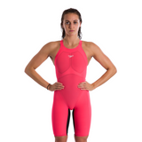SALE Speedo Pure Valor Red Closed Back Kneeskin
