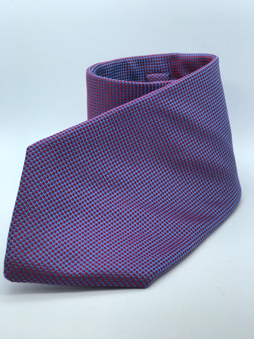 100% Pure Silk Purple Pearlescent Pin Head Tie.