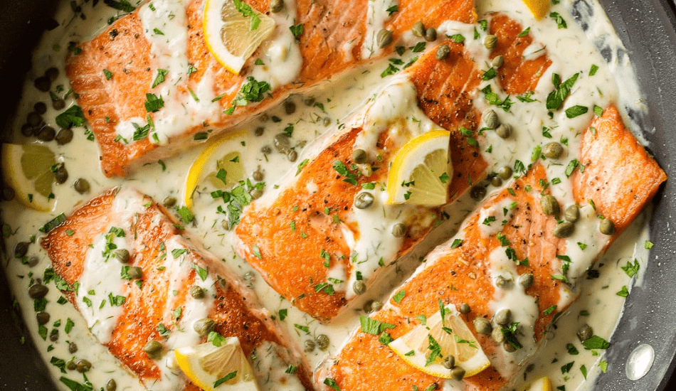 Salmon Piccata Recipe!!