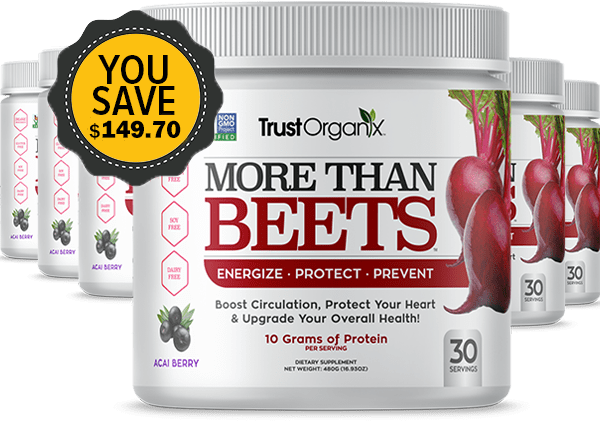 More Than Beets 6 Canister Special Offer