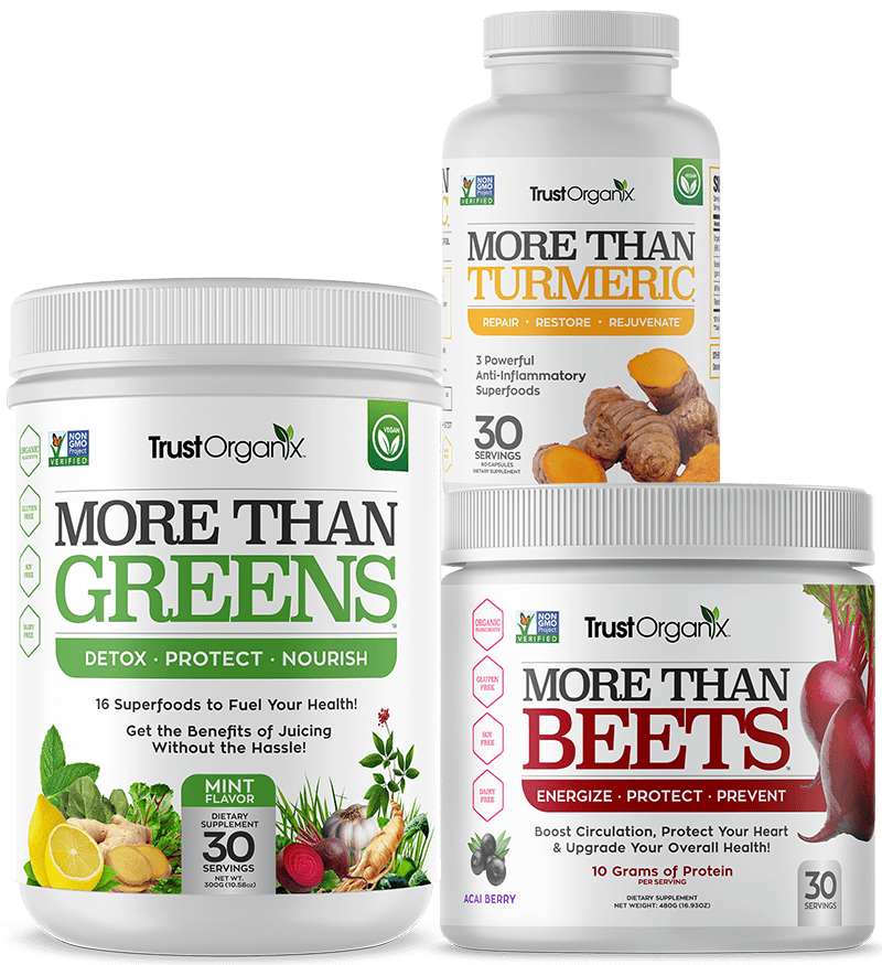 More Than Beets More Than Greens More Than Turmeric Bundle