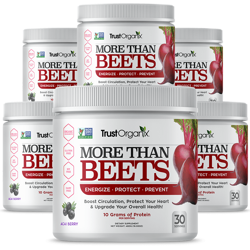 6 Canisters of More Than Beets