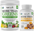 More Than Greens More Than Turmeric Super food Green Juice