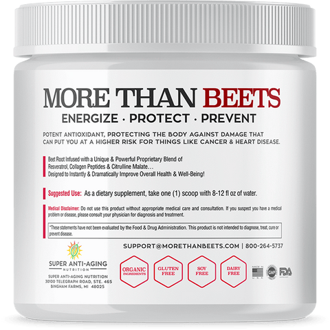 More Than Beets & More Than Turmeric Special Offer 3 of Each