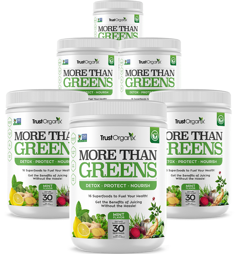 6 Canisters of More Than Greens