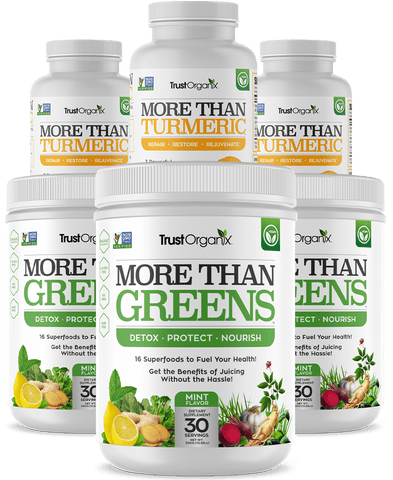 More Than Greens & More Than Turmeric Special Offer 3 of Each