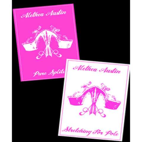 Alethea Austin Stretching for Pole and Pure Splits Instructional DVD's