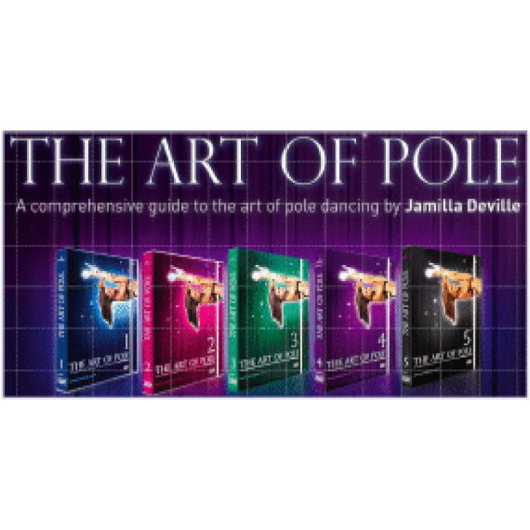 Jamilla Deville The Art of Pole DVDs Boxed Set