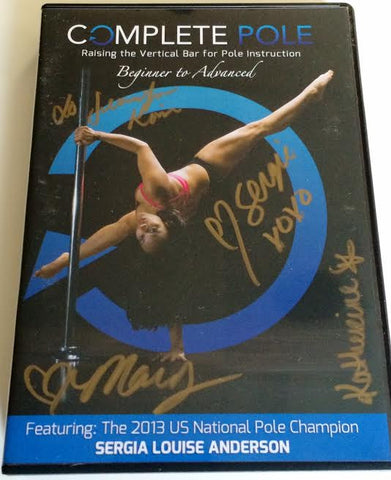 Complete Pole 6 DVD Box Set Raising the Vertical Bar for Pole Instruction for Men and Women