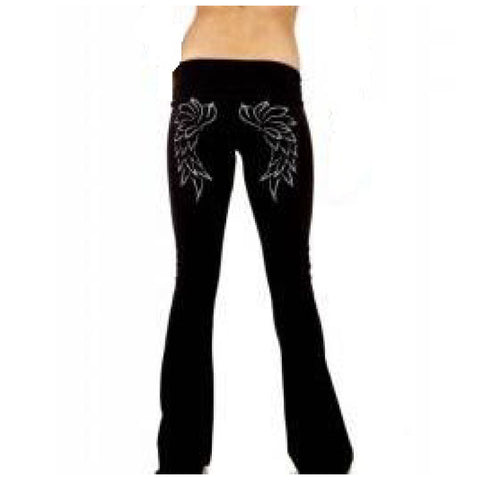Felix Cane Boot Cut Yoga Pants