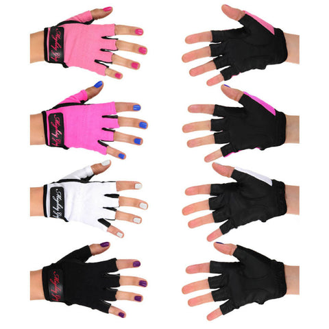 Mighty Grip Pole Dance Training & Fitness Gloves Non-Tacky or Tacky