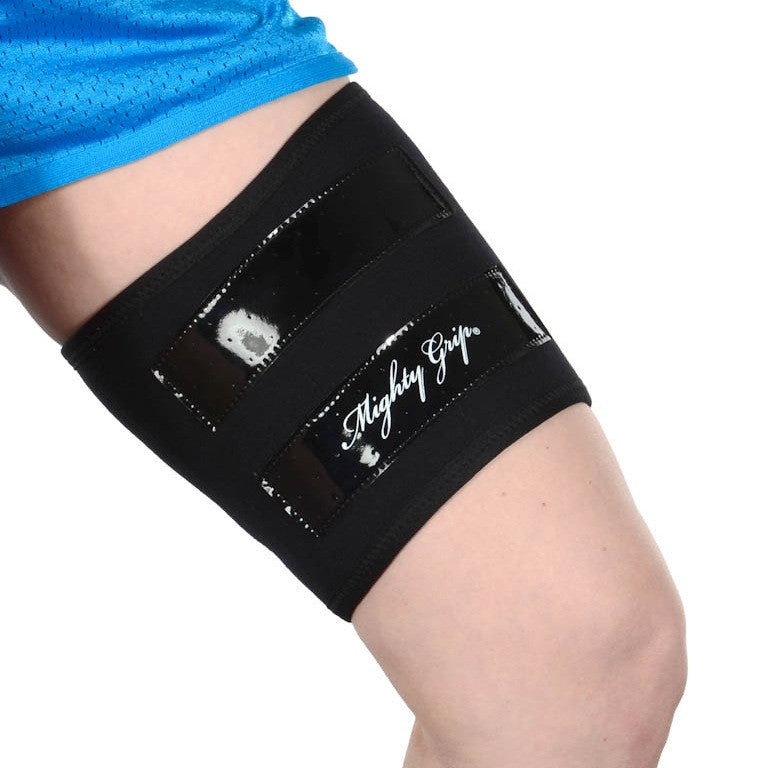 Mighty Grip Inner Thigh Protector for Pole Dancing Black