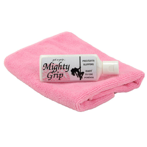 Mighty Grip and Microfiber Towel