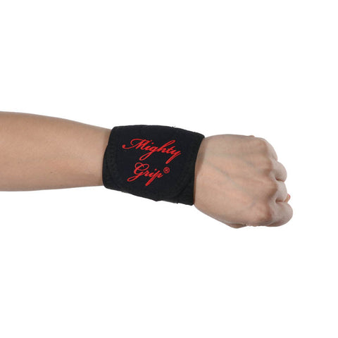 Mighty Grip Wrist Band Support Non-Tacky or Tacky