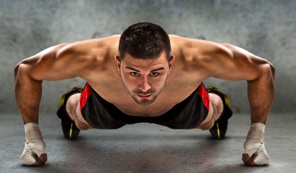 Man push-ups build strength alternative fitness afitnesstrend