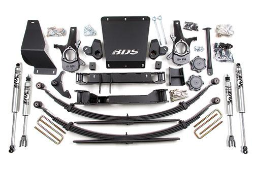 "BDS 6-1/2"" Suspension Lift Kit"