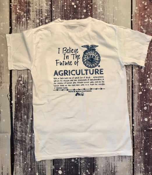 I Believe in the Future of Ag, White