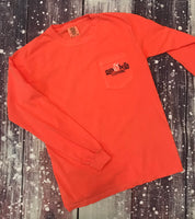 Long Sleeve Signature Collection, Bright Salmon