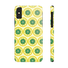 Load image into Gallery viewer, Lemon Lemon Every Where Hard Plastic iPhone Case