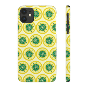 Lemon Lemon Every Where Hard Plastic iPhone Case