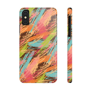 Kids First Painting Hard Plastic iPhone Case