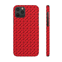 Load image into Gallery viewer, Little Heart Bubbles Hard Plastic iPhone Case