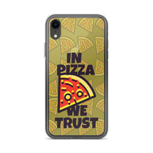 Load image into Gallery viewer, Pizza For President TPU and PU iPhone case